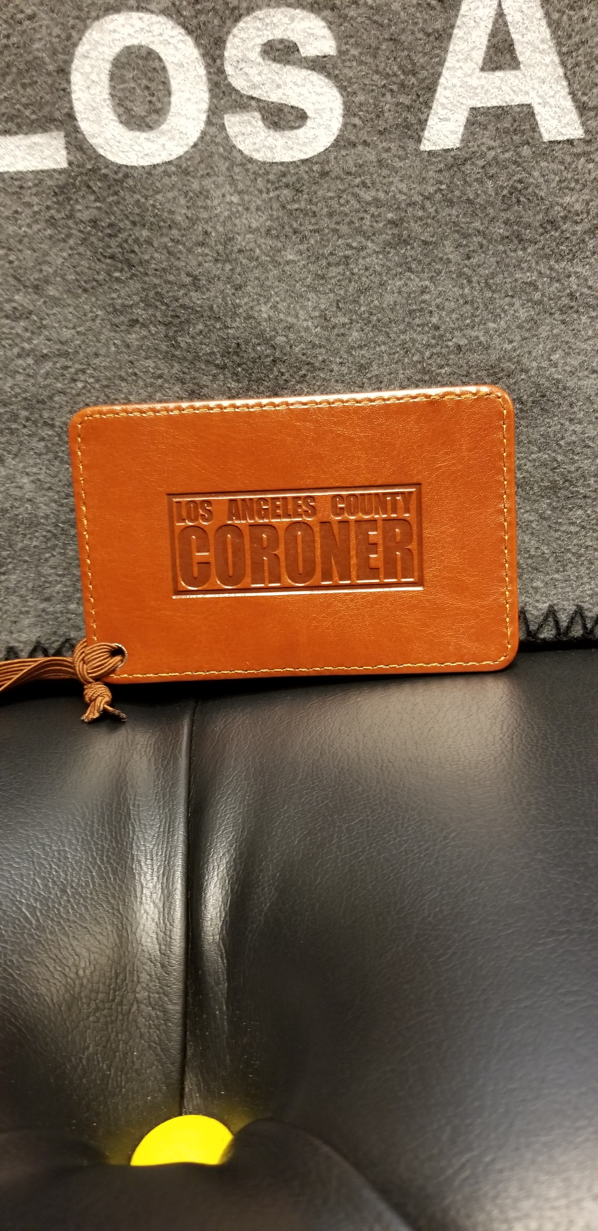 Coroner Luggage Tag