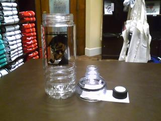 Dept. of Coroner Sherlock Water Bottle-1