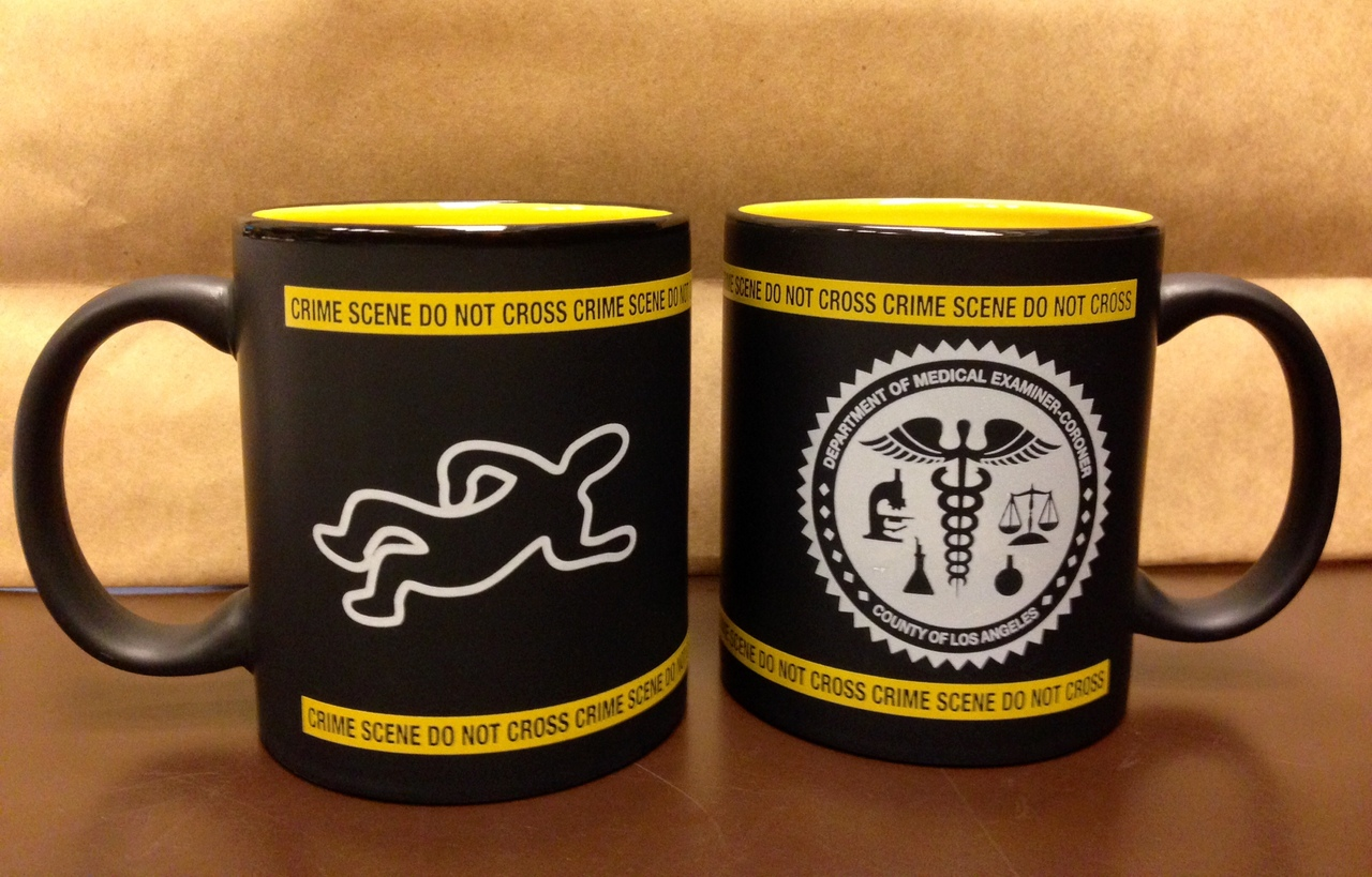 L.A. County Medical Examiner- CORONER CSI Mug
