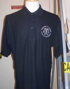 L.A. County Coroner Seal Polo