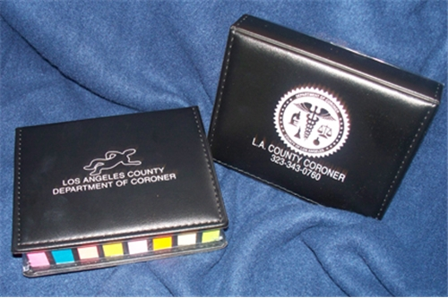 L.A. County Coroner Body/Seal Organizer