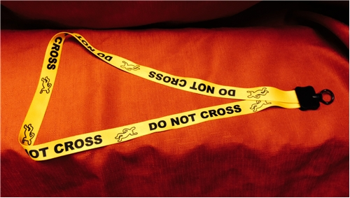Body Do Not Cross Lanyard