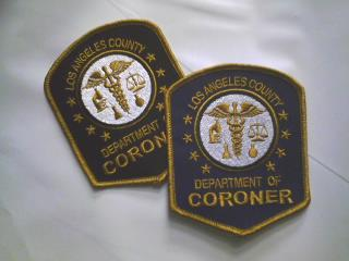 L.A. County Coroner Vintage Patch